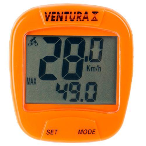 Велокомпьютер Ventura 10F Оранжевый (A-L-0068)