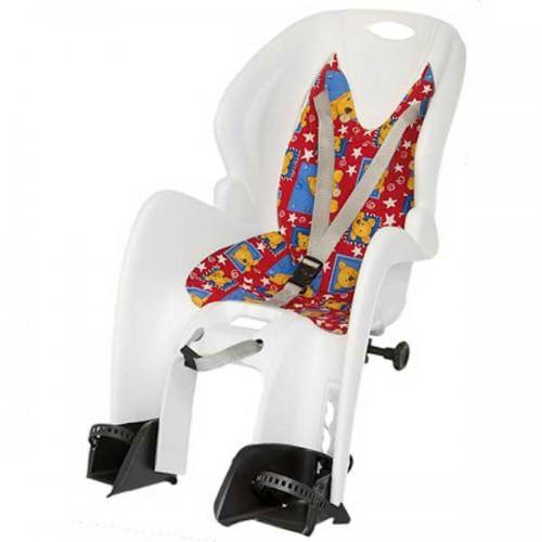 Велокресло на багажник Mighty белый (a-pz-0489)