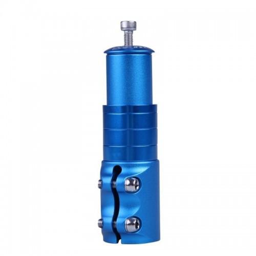 """Адаптер для руля GJB-012 Heads UP 1-1 / 8"""", 110мм, синий (GJB-012-blue)"""