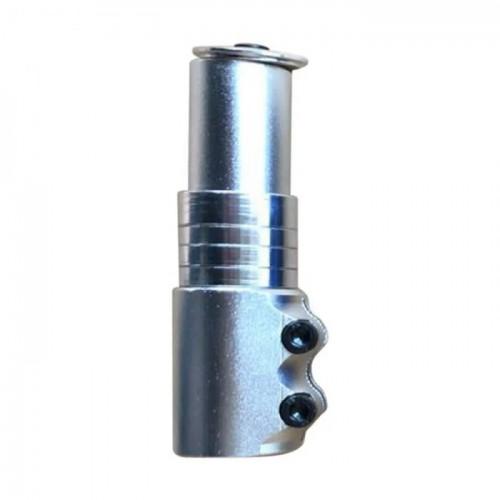 """Адаптер для руля GJB-012 Heads UP 1-1 / 8"""", 110мм, серебристый (GJB-012-silvery)"""