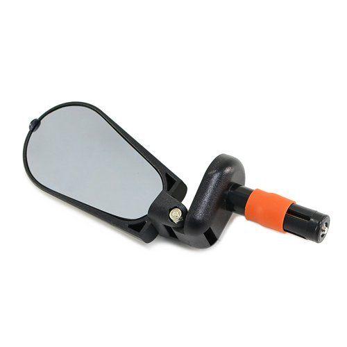 Зеркало 3D в руль велосипеда, регулируемое, складное (LUS280)