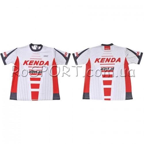 Велосипедная футболка Kenda Rad301 белый (A-PZ-0234)