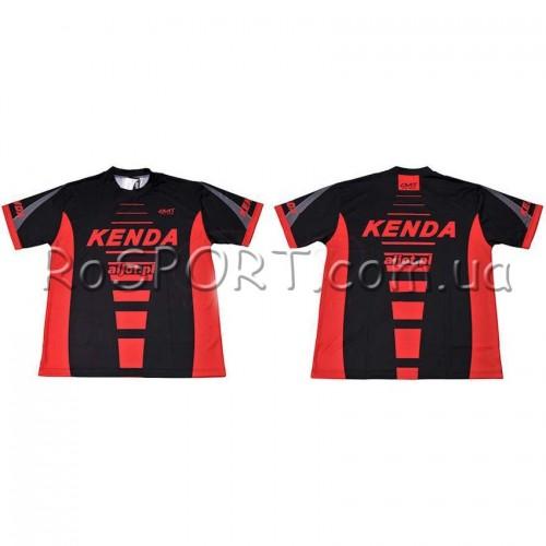 Велосипедная футболка Kenda Rad301 черная (A-PZ-0236)