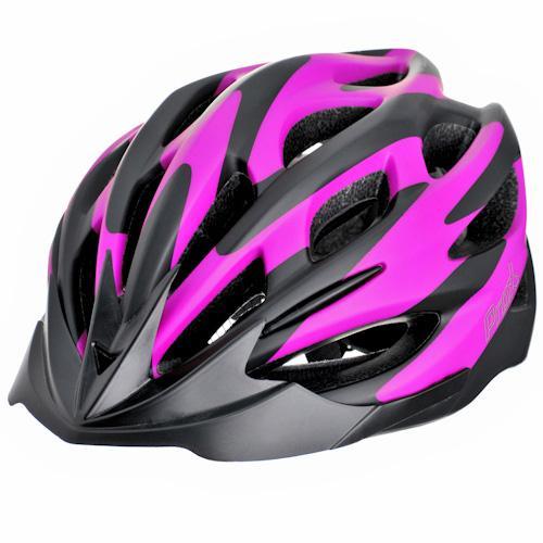 Шлем велосипедный ProX Thumb черный / розовый (A-KO-0126)