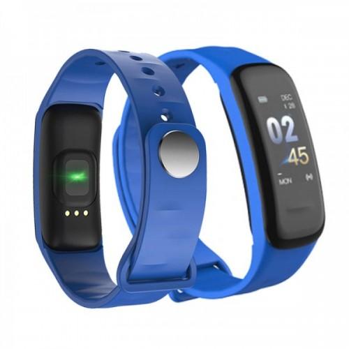 Фитнес браслет Smart Band C1 синий (c1-blue)
