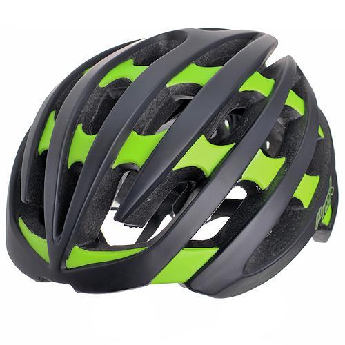 Шлем велосипедный ProX No Limit черный / зеленый (A-KO-0119)