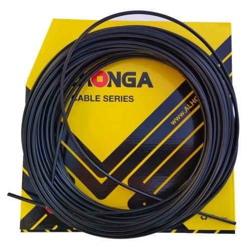 Кожух Alhonga 5 мм., для тормозной системы, 1м, черный (HJ-DCP001)