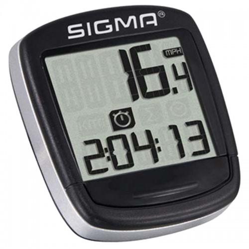 Велокомпьютер Sigma Sport BC 500 проводной, черный (LIS193)