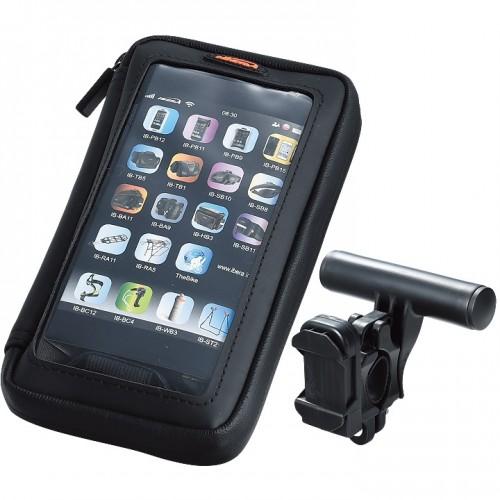 Велосумка на руль Ibera IB-PB23Q6 для телефона, черный (SAI034)
