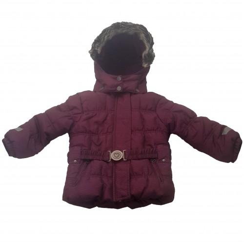 Куртка детская Lupilu L-11, 100% полиэстер, вишневый (L-11)